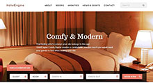 Hotel Website development