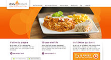 Food and restaurant Website