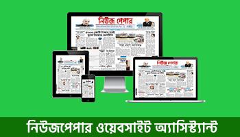 Newspaper website assistant